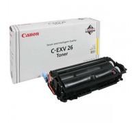 Заправка картриджа Canon C-EXV26 Yellow