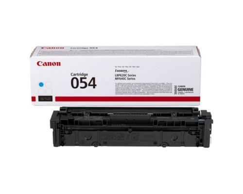 Заправка картриджа Canon 054 Cyan