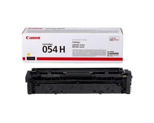 Заправка картриджа Canon 054H Yellow