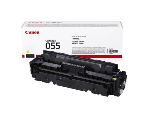 Заправка картриджа Canon 055 Yellow