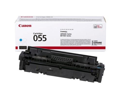Заправка картриджа Canon 055H Cyan
