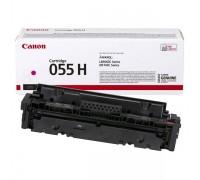 Заправка картриджа Canon 055H Magenta