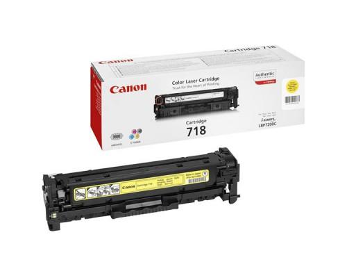 Заправка картриджа Canon Cartridge 718Y