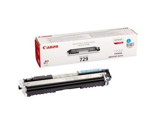 Заправка картриджа Canon Cartridge 729 Cyan