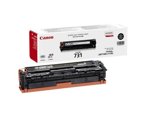 Заправка картриджа Canon Cartridge 731 Black