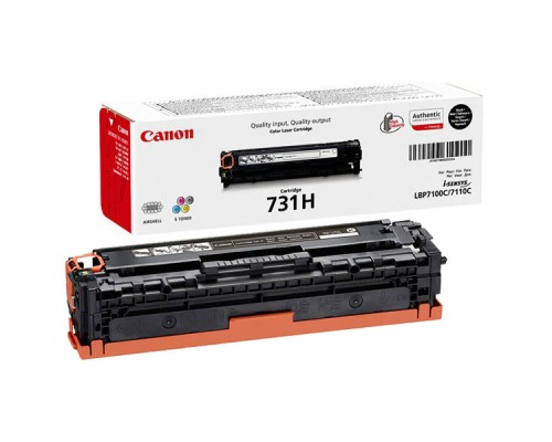 Заправка картриджа Canon Cartridge 731H Black