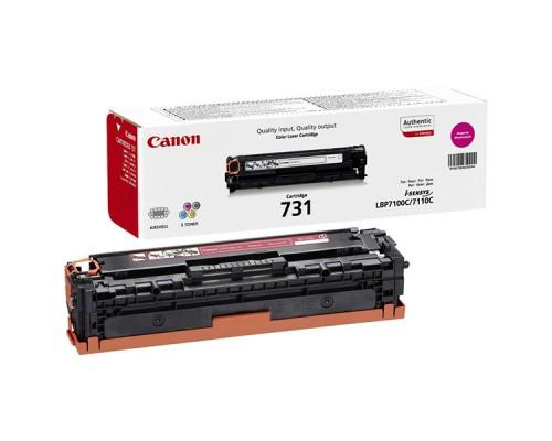 Заправка картриджа Canon Cartridge 731 Magenta