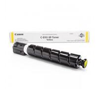 Заправка картриджа Canon C-EXV49 Yellow