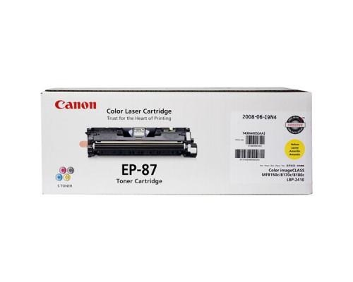 Заправка картриджа Canon EP-87Y