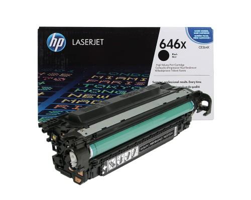 Заправка картриджа HP CE264X (646X)