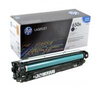 Заправка картриджа HP CE270A (650A)