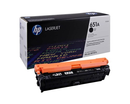 Заправка картриджа HP CE340A (651A)