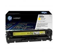 Заправка картриджа HP CE412A (305A)