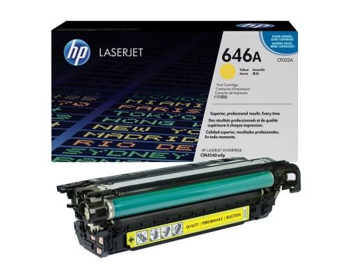 Заправка картриджа HP CF032A (646A)