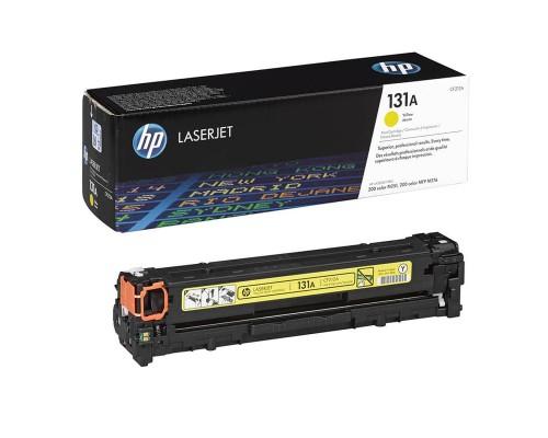 Заправка картриджа HP CF212A (131A)