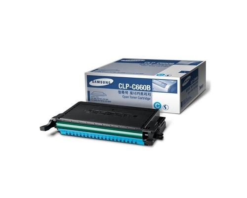 Заправка картриджа Samsung CLP-C660B