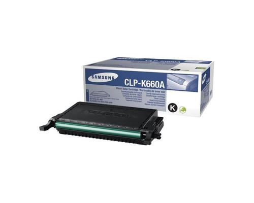 Заправка картриджа Samsung CLP-K660A
