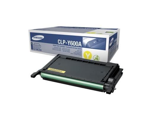 Заправка картриджа Samsung CLP-Y600A