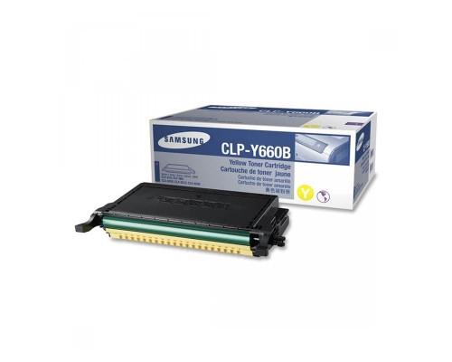 Заправка картриджа Samsung CLP-Y660B