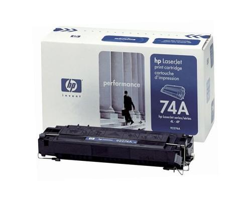 Заправка картриджа HP 92274A (74A)