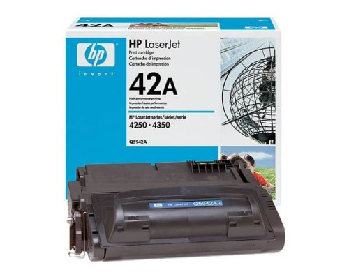 Заправка картриджа HP Q5942A (42A)